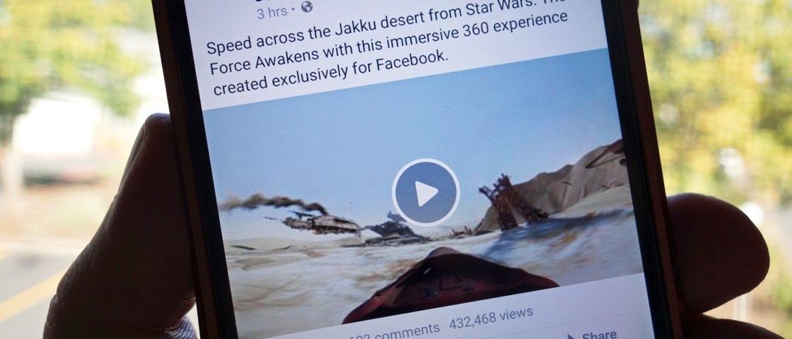 Facebook testa novos botões e possibilidade de exibição de vídeos offline